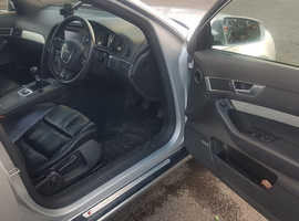 Audi A6, 2005 (55) Silver Estate, Manual Diesel, 123,200 miles