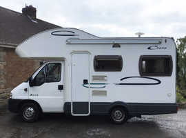 REDUCED Fiat Ducato Lunar Champ Motorhome - 4 berth - 50163 miles - 2005 - 1997cc