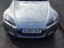 Honda S2000, 2000 (W) Silver Convertible, Manual Petrol, 137,202 miles