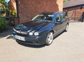 Jaguar X-TYPE, 2007 (57) Black Estate, Manual Diesel, 150,208 miles