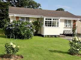 CORNWALL 3 BED HOLIDAY BUNGALOW PL14 5BU SLEEPS 6 FREE WI-FI