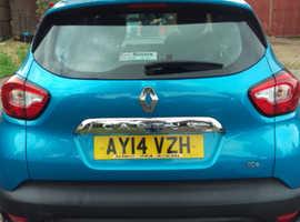 Renault Captur, 2014 (14) Blue Hatchback, Manual Petrol, 56,000 miles