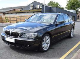 BMW 7 Series, 2006 (56) Black Saloon, Automatic Diesel, 124,000 miles