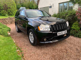 Jeep Grand Cherokee, 2006 (06) Black, Automatic Diesel 3 Litre CRD