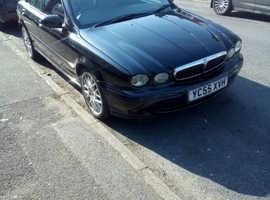 Jaguar X-TYPE, 2006 (55) Black Saloon, Manual Diesel, 125,000 miles