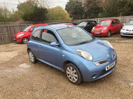 Nissan Micra, 2008 (08) Blue Hatchback, Manual Petrol, 78,803 miles