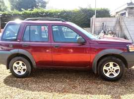 Land Rover Freelander, 2000 (W) Red Estate, Manual Petrol, 111,603 miles