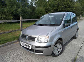 Fiat Panda 1.2 Dynamic 2007 Low Miles New Tyres Brakes Long MoT Stamped Service History
