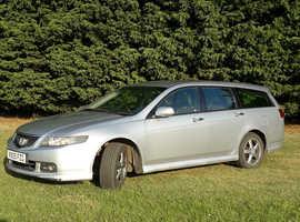 Honda Accord 2.4 Type S 2005 (05) Silver Estate