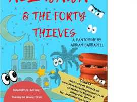Ali Baba and the Forty Thieves-a pantomime
