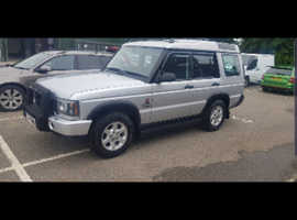 Land Rover Discovery, 2003 (53) Silver Estate, Automatic Diesel, 135 miles