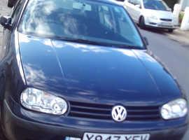 Volkswagen Golf, 2001 (Y) Blue Hatchback, Manual Petrol, 53,670 miles