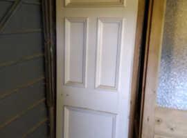 13 Reclaimed Victorian 4 panel pine doors.