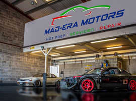 We offer top-quality car servicing and repairs in our fully equipped garage. Contact Mad Era Motors Ltd today.