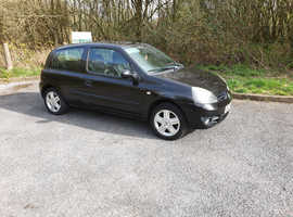 Renault Clio, 2007 (07) Black Hatchback, Manual Petrol, 83,267 miles