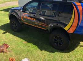 Nissan Pathfinder, 2008 (08) Black Estate, Manual Diesel, 158,085 miles
