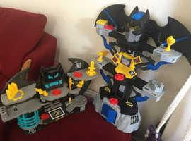 Imaginext Batman Batcave Bundle