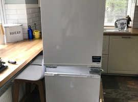 Integrated Beko fridge freezer (4 years old)