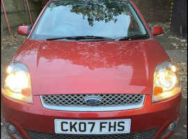 Ford Fiesta, 2007 (07) Red Hatchback, Manual Petrol, 42,000 miles