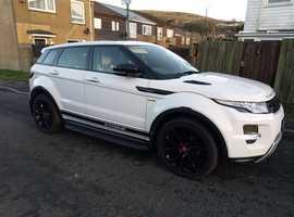 Land Rover Range Rover Evoque, 2013 (63) White Estate, Automatic Diesel, 51,000 miles