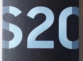 BRAND NEW UNLOCKED SAMSUNG GALAXY S20 £800 5G BLUE SM-G981B/DS 128GB
