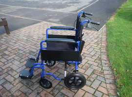 As New    Folding Light Wheelchair