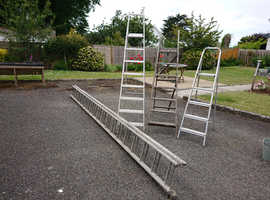 Set of four ladders