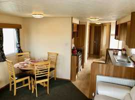 STATIC CARAVAN/ SITED CONNECTED/ READY TO GO 3 BED
