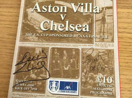 FA CUP FINAL 2000 SIGNED PROGRAMME