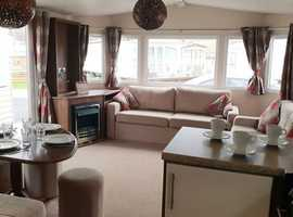 Luxury Caravan With Side Patio Doors, Monthly Payment Options & Low Site Fees