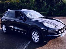 Porsche Cayenne, 2010 (10) Black Estate, Automatic Diesel, 85,000 miles