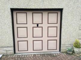 2 x Garage Doors, Georgian style