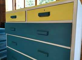 R.Wilkinsons Upcycled 1951 shabby chic chest of drawers