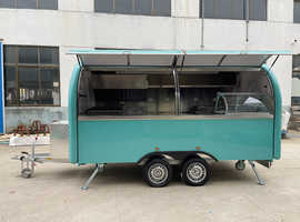 Food truck and mobile kitchen trailer builder catering traler 4M