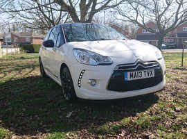 Citroen Ds3, 2013 (13) White Hatchback, Manual Diesel, 102,157 miles