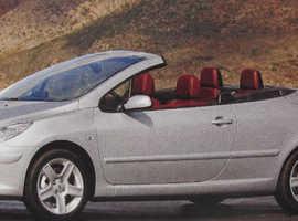 Peugeot 307CC WANTED