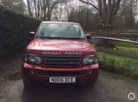 Land Rover Range Rover Sport, 2006 (06), Automatic Diesel, 75,000 miles