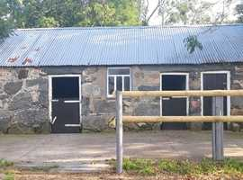 Land & Building with concrete yard for sale 4 miles from Bangor, Gwynedd