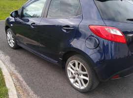 Mazda MAZDA 2, 2013 (13) Blue Hatchback, Manual Petrol, 1,850 miles