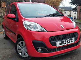 Peugeot 107 Active 5 Doors 2012 1.0 Petrol *1 Year Warranty* Low Mileage 60k
