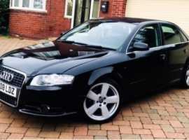 Audi A4 SPORT, 2008 (08), Manual Diesel, 101,000 miles