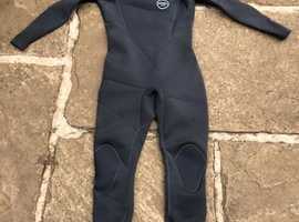 Xcel Axis Comp 3.2 chest zip wetsuit, size L in dark grey - Great Condition