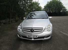 Mercedes R Class, 2007 (07) Silver Estate, Automatic Diesel, 175,000 miles