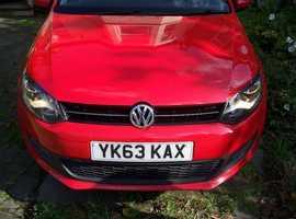 Volkswagen Polo, 2013 (63) Red Hatchback, Manual Diesel, 45,820 miles