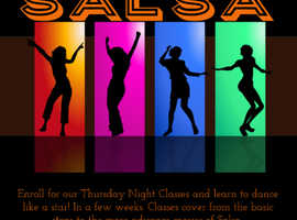 Stourbridge Beginners salsa classes