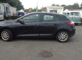 Renault Megane, 2009 (59) Black Hatchback, Manual Petrol, 69,007 miles