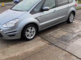 Ford S-Max, 2013 (63) Silver MPV, Manual Diesel, 150,000 miles