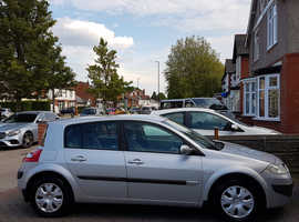 2006 Renault Megane,5 Door,Hatchback,SILVER,Manual,1.6L,Petrol,MOT until 09 May 2020