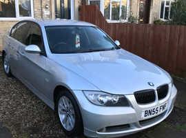 BMW 3 Series, 2005 (55) Silver Saloon, Manual Petrol, 42,000 miles