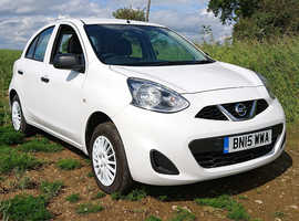 Nissan Micra, 2015 (15) White Hatchback, Manual Petrol, 954 miles